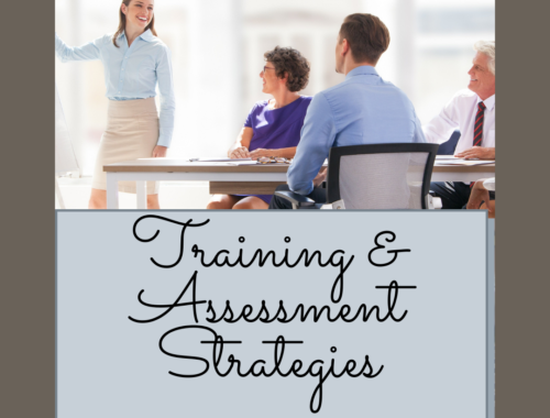Training assessment strategy