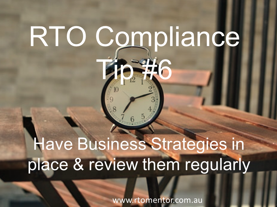 RTO strategies RTO Mentor