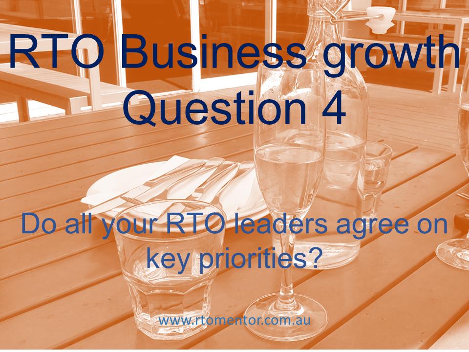 RTO Business growth RTO Mentor