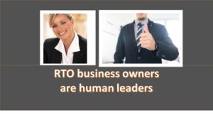 RTO set up RTO leader Mentor
