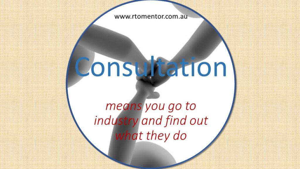 RTO Consultant RTO Mentor RTO industry Consultation