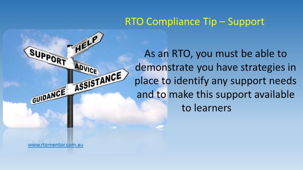 RTO STudent support
